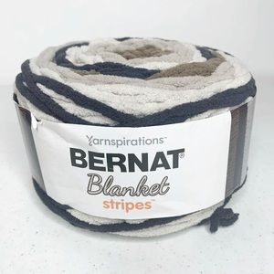 Bernat Blanket Stripes Yarn Buffed Stone